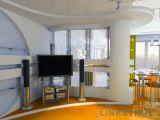 Натяжные потолки в дизайне интерьера