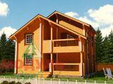 Брусовые деревянные дома, проекты домов из бруса