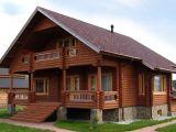 Дома из оцилиндрованного бревна - экологичность и доступность
