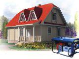 Дизельный генератор в строительстве загородного дома