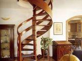 Разновидности лестниц в доме. Лестницы винтовые.