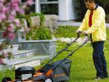 Продукция Husqvarna для работы в саду: газонокосилка Husqvarna