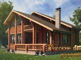 Строим дом из оцилиндрованого бревна