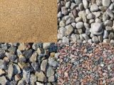 Сыпучие стройматериалы: гравий, щебень и песок для строительства