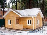 Строим баню из бруса зимой