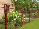 Недорогое и практичное ограждение: забор из сетки рабицы