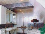 Ремонт в ванной: покупаем реечные потолки