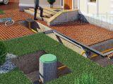 Устройство поверхностного водоотвода на участке