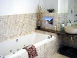 Интерьер ванной комнаты должен излучать теплоту