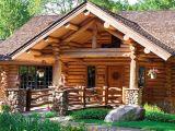 Деревянный дом: дикий сруб