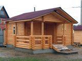 Усадка деревянной бани
