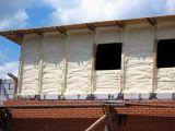 Утепление фасадов ППУ напылением пенополиуретаном