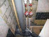 Замена водопровода, установка счетчиков воды