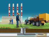 Промывка труб отопления и канализации