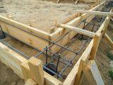 Применение арматуры в строительстве фундамента