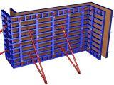 Металлическая опалубка в монолитном строительстве