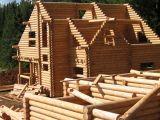 строительств дома из оцилиндрованного бревна