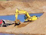 Речной песок: добыча и применение