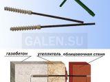 «Гален» разработал новый вид энергоэффективных гибких связей для газобетона