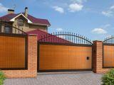 Как открыть большие ворота одним движением?