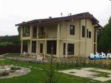 Деревянные коттеджи. Дом из клееного бруса.