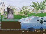 Для эффективной очистки поверхности садового пруда от плавающих предметов