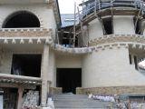 Облицовка фасадов природным камнем из Дагестана
