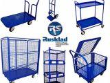 Складское оборудование: грузовые тележки от компании Русклад