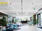 акустическая панель Ecophon Solo Matrix в дизайне дизайне