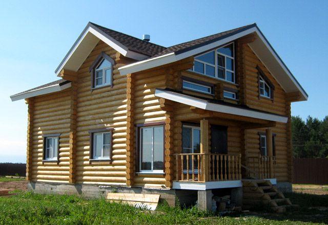 Деревянные дома терем фото