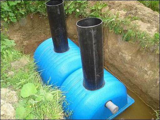Автономная канализация для дома своими руками