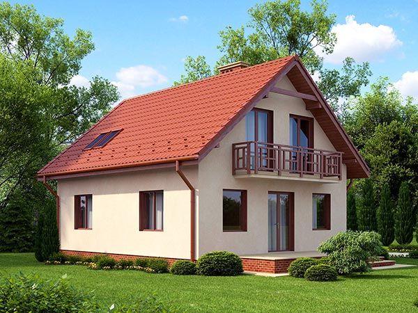 Проект кирпичного дома своими руками 568