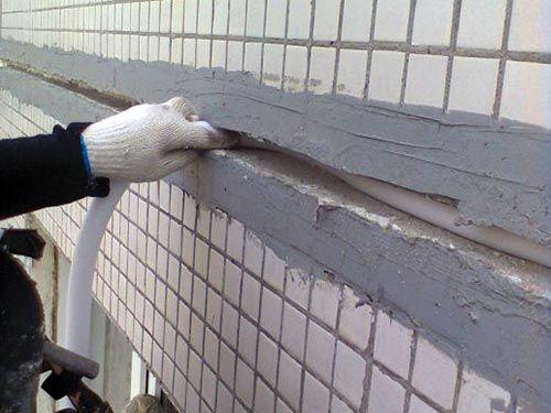 Герметизация стыков профнастила на крыше
