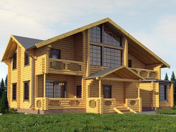 Проектирование дома из бревна: что нужно учесть