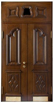 Межкомнатная дверь с ПВХ-пленкой Вираж ПО, беленый дуб