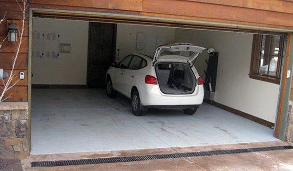 Видео бетонный пол в гараже своими руками видео