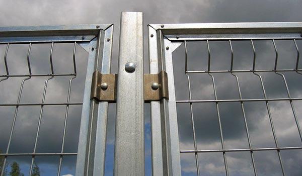 фото сварной забор
